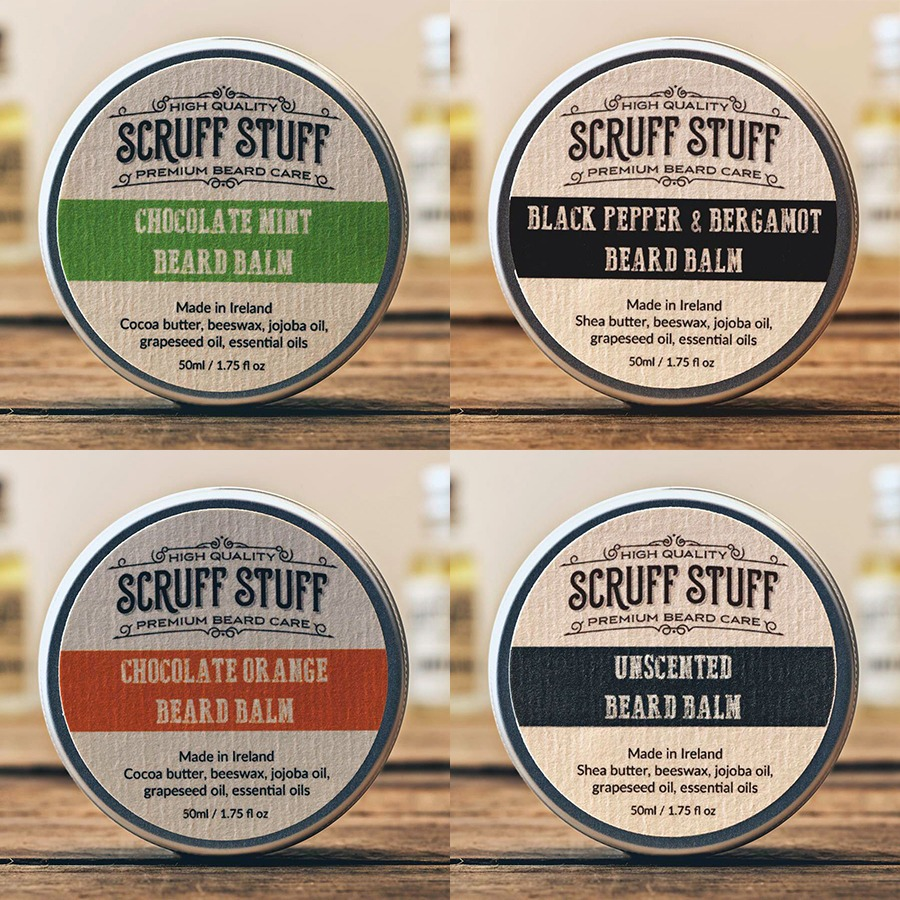 Scruff Stuff All Beard Balms